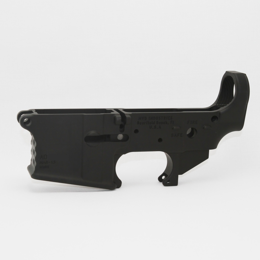 MVB Forged Lower Receiver - Stripped